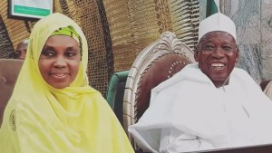Varsity elevates Gov. Ganduje's wife to Associate Professor