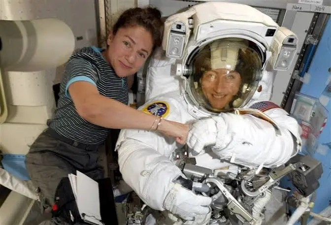 NASA makes history as astronauts undertake first-ever all-women spacewalk