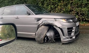 Manchester City star, Sergio Aguero involved in auto accident on way to training