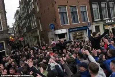 Amsterdam bans sale of alcohol ahead Chelsea, Ajax Champions League match