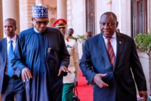 Buhari advocates strong Nigeria, South Africa relationship for African development