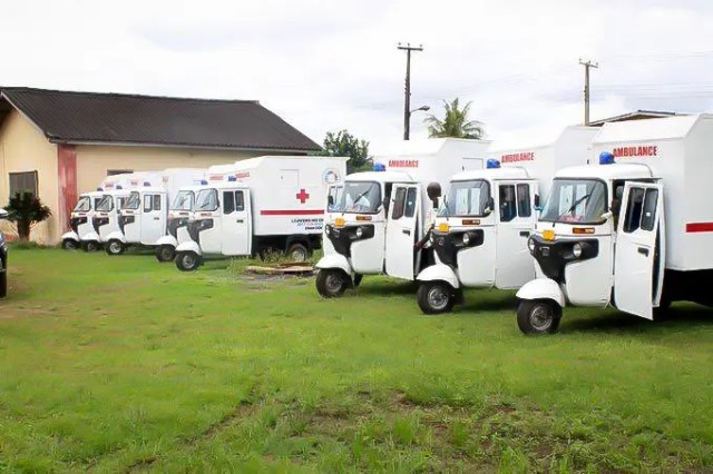 Edo govt procures more tricycle ambulances to deepen rural healthcare programme