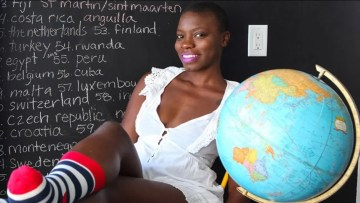 Ugandan woman becomes first black woman to visit every country
