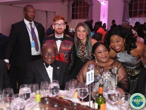 Akufo-Addo, wife, Ms Bodega, Connel Thompson support 'focus charity for Africa' in New York