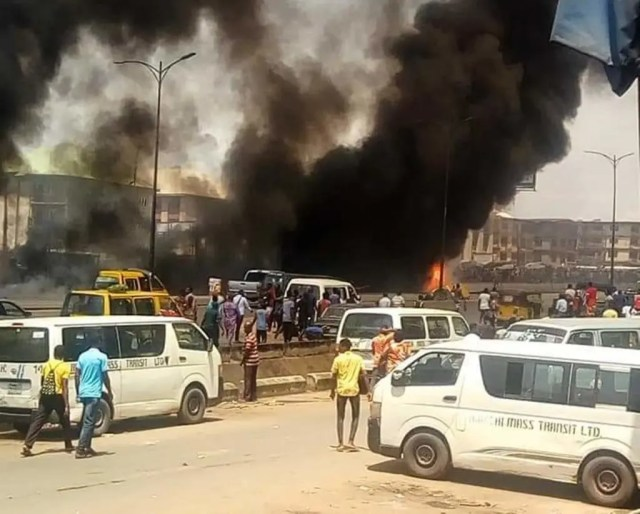 Onitsha Tanker Fire: 2 dead bodies still unclaimed from hospital
