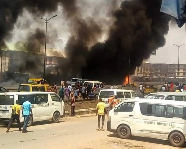 Onitsha Fire Incident: Why We Failed To Promptly Subdue The Inferno – Fire Service