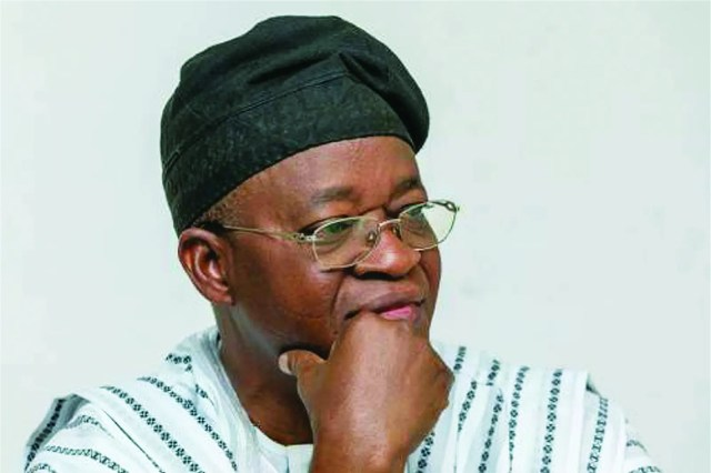 Oyetola charges cabinet members on state development