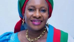 Minister of Women Affairs, Mrs Pauline Tallen,