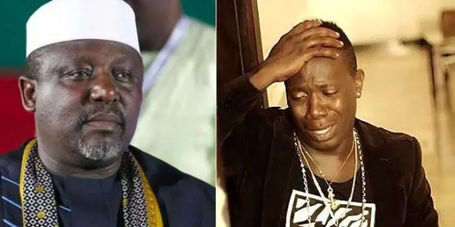 Your money has put my life under threat, Duncan Mighty writes to Rochas