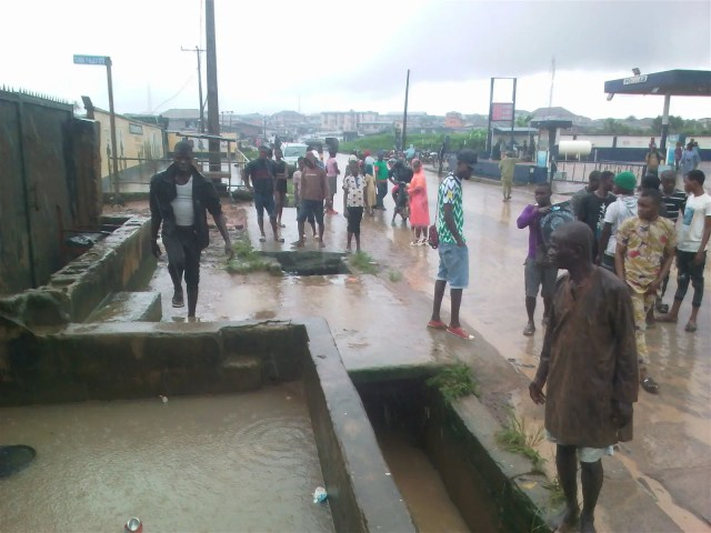 Flood sweeps 11-year-old boy rescuer to death, destroys property in Lagos