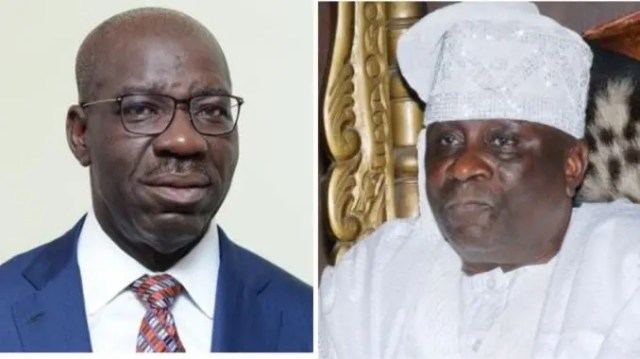 Just in: Suspected thugs attack Oba of Lagos, Obaseki, others