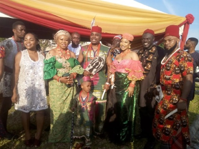 Actors Kenneth Okonkwo, Tonto Dikeh honoured at Nollywood New Yam Festival