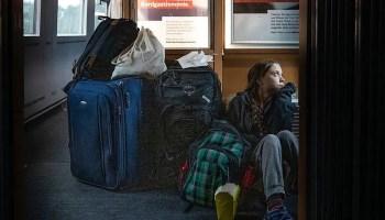Greta Thunberg,German Railway, first class