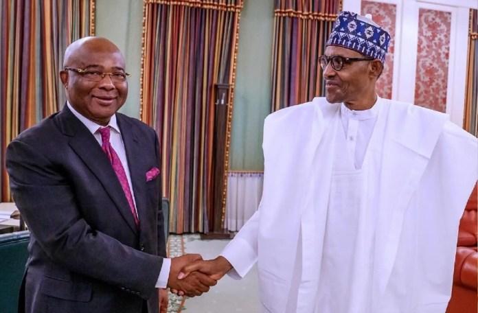 Uzodinma, Buhari