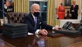America's breath of fresh air and President Joe Biden's many rivers to cross