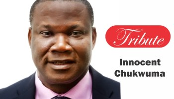 Innocent Chukwuma in the radical student movement