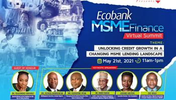 Ecobank Partners Vanguard|Economic Forum Series,convenes MSME Finance Summit on lending to small businesses
