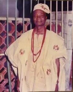 High Chief Joshua Makanjuola Babalola