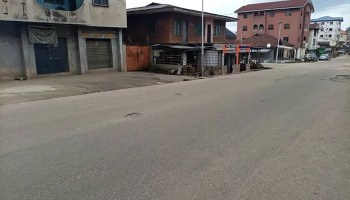 Umuahia streets empty despite IPOB's relaxation of sit-at-home order