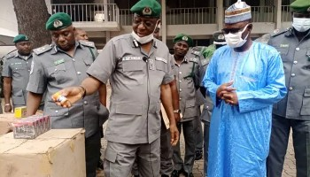 Customs seizes 185 cartons of sex enhancer, other drugs, AK-47 in Kano, Jigawa