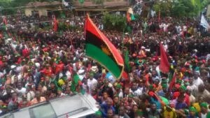 Indiscipline: IPOB expels its Assess Recovery Officer, Mrs Nelly Ofoegbu