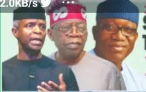 2023 Presidency: South-West undecided on Tinubu, Osinbajo, Fayemi