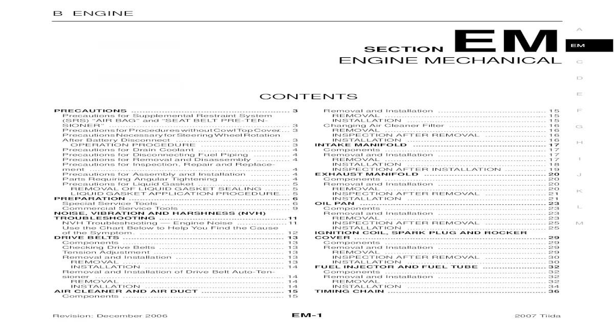 Bestseller: Sr20det Engine Workshop Manual