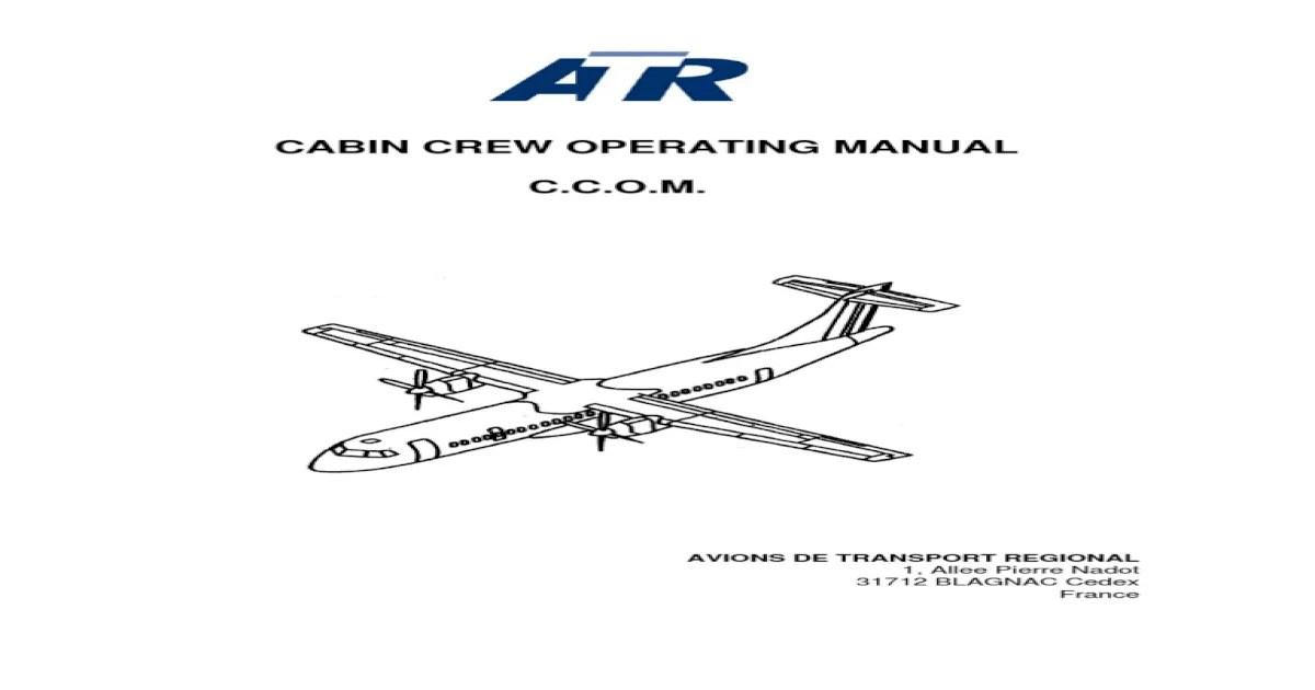 A320 Cabin Crew Manual