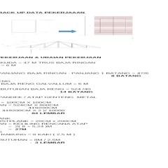 Koefisien Reng Baja Ringan Rab Atap Spandek Xlsx Document