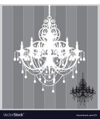 Chandelier Royalty Free Vector Image - VectorStock