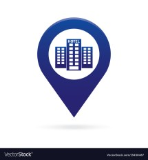 Hotel Map Symbol - Galleries