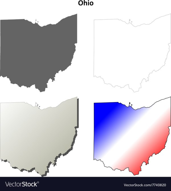 Free Ohio Map.20 Ohio Map Outline Pictures And Ideas On Meta Networks
