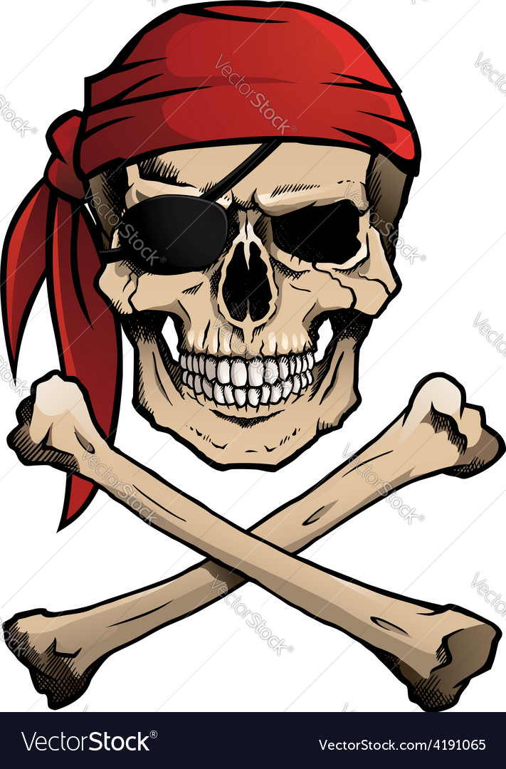 cartoon pirate skull and crossbones cartoonankaperlacom