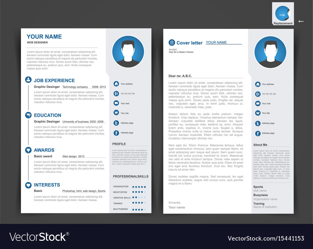 Resume Format 2 Pages 2 Page Resume Template 1 Page Resume