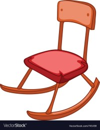 Cartoon home furniture chair Royalty Free Vector Image