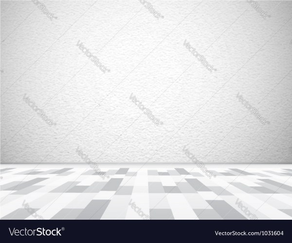 Empty Wall And Advertisement Vector