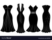 woman party dress silhouette royalty
