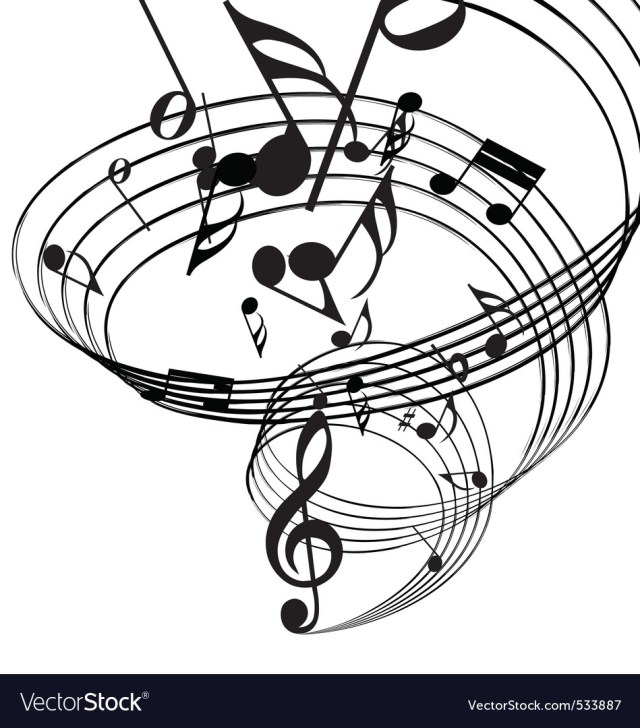Musical notes Royalty Free Vector Image - VectorStock