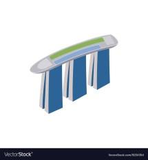 Marina Bay Sands Vector Icon Free