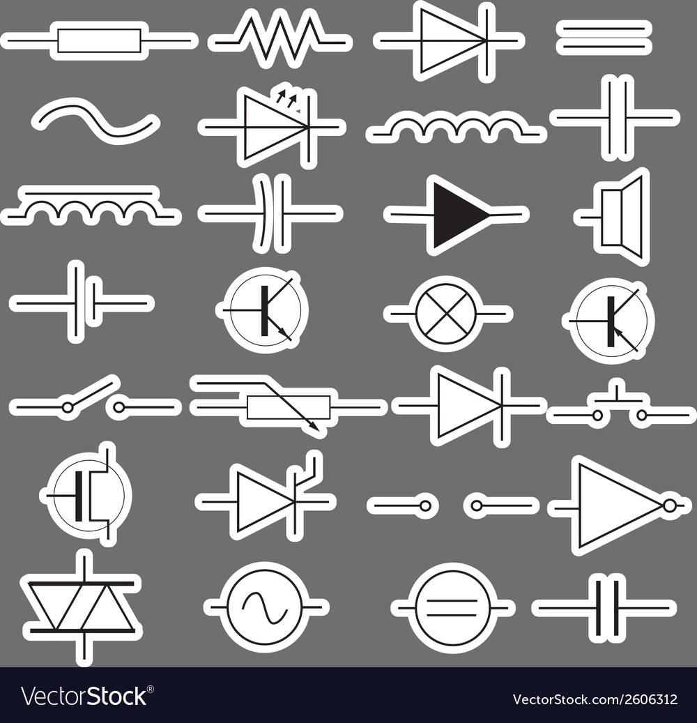 Engineering Symbols On Electrical Schematic Symbols And Meanings