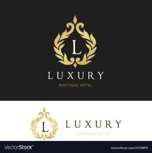 Luxury Logo Crests Design Hotel Vector