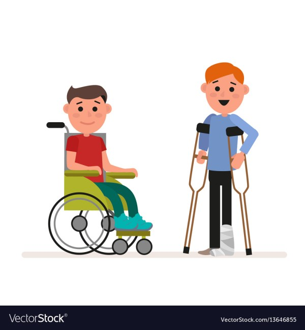 Child with Special Needs Clip Art