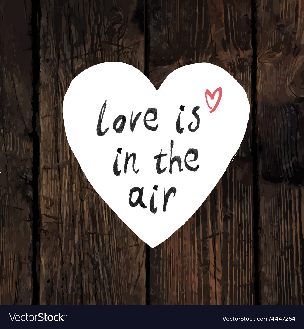 Download Love is in the air Royalty Free Vector Image - VectorStock