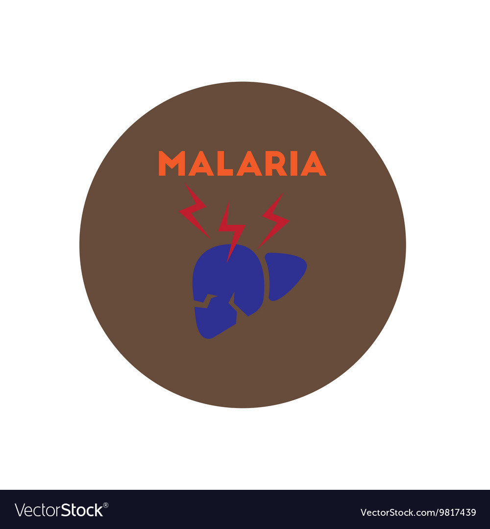 hight resolution of vector icon on circle various symptoms of malaria on the bodies stock images page everypixel