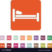 List Of Synonyms And Antonyms Word Hotel Bed Icon