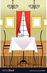 fancy restaurant background vector royalty vectors