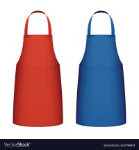 Kitchen apron Royalty Free Vector Image - VectorStock