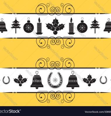 Christmas Decor Elements Vector Graphics Thumb