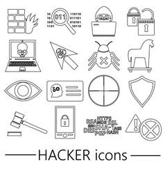 Hacker Vector Images (over 7,300)