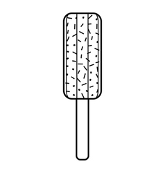 Chocolate bar icon outline style Royalty Free Vector Image